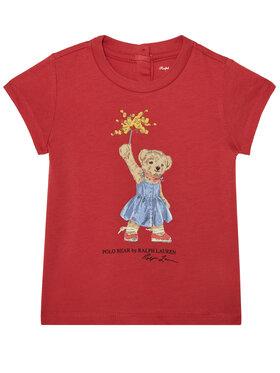 Polo Ralph Lauren Polo Ralph Lauren Marškinėliai Summer II 310790444002 Raudona Regular Fit