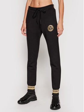 Versace Jeans Couture Versace Jeans Couture Melegítő alsó A1HWA1TB Fekete Regular Fit