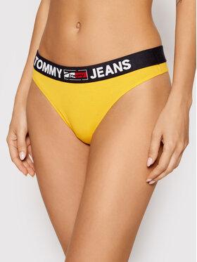 Tommy Jeans Tommy Jeans Kalhotky string UW0UW02823 Žlutá