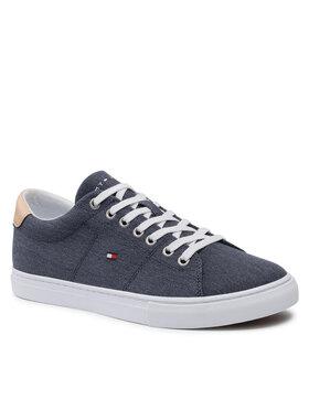 Tommy Hilfiger Tommy Hilfiger Tenisówki Essential Textile Vulc Sneaker FM0FM03609 Granatowy