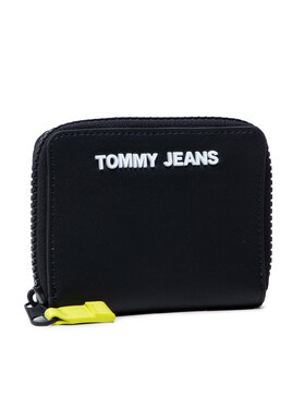 Tommy Jeans Tommy Jeans Mały Portfel Damski Tjw Pu Small Za AW0AW10685 Czarny