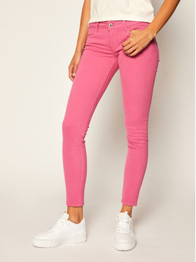 Pepe Jeans Pepe Jeans Дънки Skinny Fit Soho PL210804 Розов Skinny Fit
