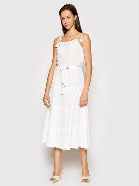 Melissa Odabash Melissa Odabash Лятна рокля Fru CR Бял Regular Fit