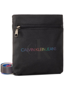 Calvin Klein Jeans Calvin Klein Jeans Rankinė Micro Flatpack Pride K50K506255 Juoda