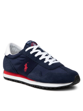 Polo Ralph Lauren Polo Ralph Lauren Sneakersy Train 85 809821686003 Granatowy