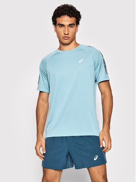 Asics Asics Technisches T-Shirt Icon Ss 2011B055 Blau Regular Fit