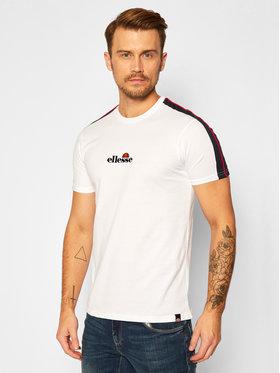 Ellesse Ellesse T-Shirt Carcano SHG09759 Biały Regular Fit