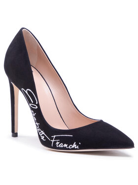 Elisabetta Franchi Elisabetta Franchi Pantofi cu toc subțire SA-45F-11E2-V320 Negru