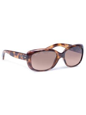 Ray-Ban Ray-Ban Slnečné okuliare Jackie Ohh 0RB4101 642/A5 Hnedá