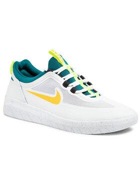 Nike Nike Boty Sb Nyjah Free 2 BV2078 103 Bílá