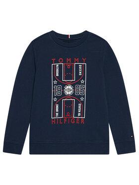 Tommy Hilfiger Tommy Hilfiger Bluza Glow In The Dark KB0KB06346 Granatowy Regular Fit