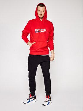 Sprandi Sprandi Sweatshirt SS21-BLM002 Rot Regular Fit