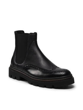Fabi Fabi Členková obuv s elastickým prvkom FU0324 Čierna