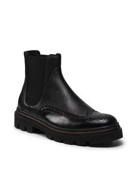 Fabi Fabi Kotníková obuv s elastickým prvkem FU0324 Černá