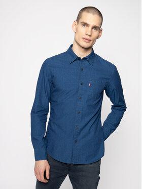 Levi's® Levi's® Košile Sunset One Pocket 86619-0006 Tmavomodrá Slim Fit