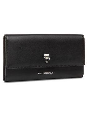 KARL LAGERFELD KARL LAGERFELD Velká dámská peněženka 205W3204 Černá