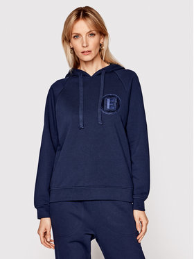 Ermanno Firenze Ermanno Firenze Sweatshirt FL05FEL Dunkelblau Regular Fit