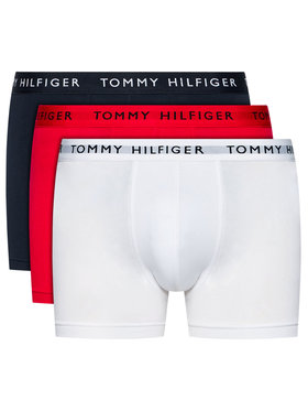Tommy Hilfiger Tommy Hilfiger Súprava 3 kusov boxeriek Essential UM0UM02203 Farebná