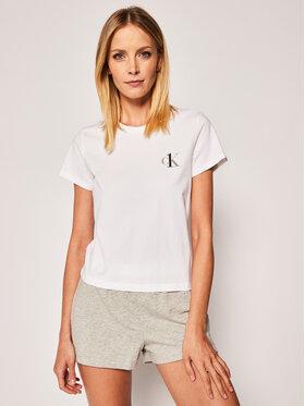 Calvin Klein Underwear Calvin Klein Underwear Pyžamový top 000QS6356E Bílá Regular Fit
