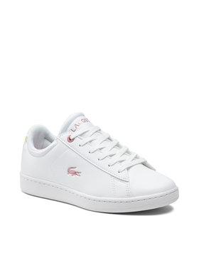 Lacoste Lacoste Sneakersy Carnaby Evo 0921 1 Suj 7-41SUJ00021Y9 Biały