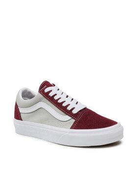 Vans Vans Sneakers aus Stoff Old Skool VN0A3WKT4PR1 Dunkelrot