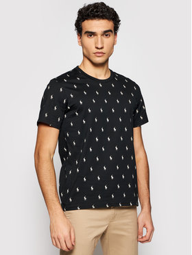 Polo Ralph Lauren Polo Ralph Lauren T-shirt 714830281001 Crna Regular Fit