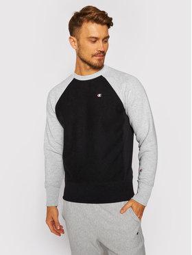Champion Champion Sweatshirt Colour Block 214918 Noir Custom Fit