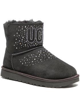 Ugg Ugg Boty W Classic Ugg Bling Mini Černá