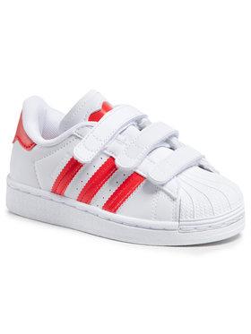 adidas adidas Buty Superstar Cf C FZ0643 Biały