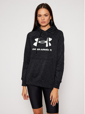 Under Armour Under Armour Pulóver Rival 1356318 Fekete Regular Fit