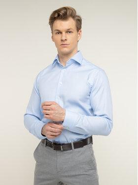 Eton Eton Marškiniai 100001194 Mėlyna Slim Fit