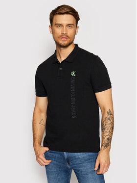 Calvin Klein Jeans Calvin Klein Jeans Polokošeľa J30J317101 Čierna Regular Fit