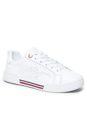 Tommy Hilfiger Tommy Hilfiger Sneakers Elevated Sneaker FW0FW05925 Blanc