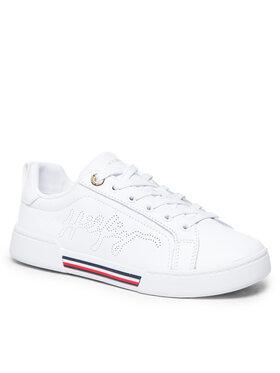 Tommy Hilfiger Tommy Hilfiger Sneakersy Elevated Sneaker FW0FW05925 Biela