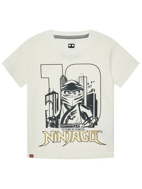 LEGO Wear LEGO Wear Тишърт 12010211 Бял Regular Fit