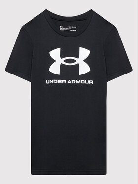 Under Armour Under Armour T-Shirt Ua Sportstyle Logo 1363282 Czarny Loose Fit