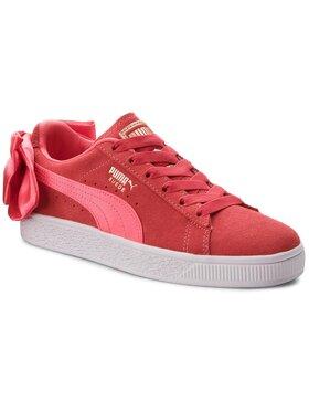 Puma Puma Sneakersy Suede Bow Jr 367316 02 Růžová