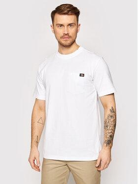 Dickies Dickies Marškinėliai Porterdale DK0A4TMOWHX Balta Regular Fit