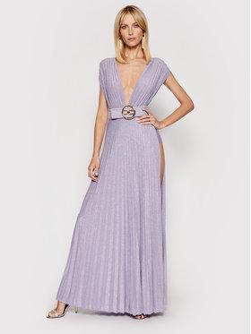 Elisabetta Franchi Elisabetta Franchi Vakarinė suknelė AB-149-13E2-V460 Violetinė Regular Fit