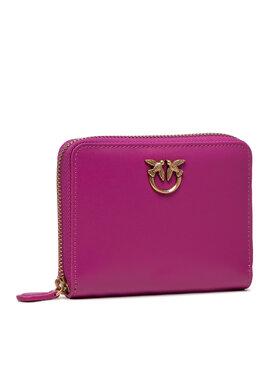 Pinko Pinko Portafoglio piccolo da donna Taylor Simply AI 21-22 PLTT 1P22EW Y6XT Rosa
