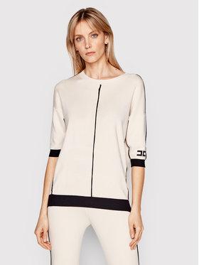 Elisabetta Franchi Elisabetta Franchi Sweater MK-02S-11E2-V260 Bézs Regular Fit