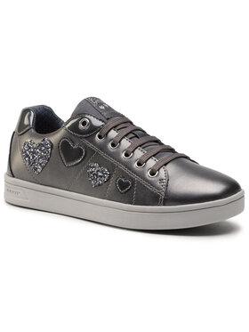 Geox Geox Sneakersy J Djrock G. A J044MA 0NFHI C9002 D Strieborná