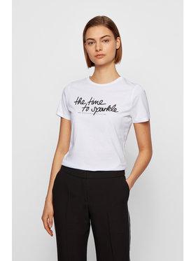 Boss Boss T-shirt C_Esparkle 50446627 Bijela Regular Fit