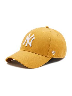 47 Brand 47 Brand Șapcă New York Yankees B-MVPSP17WBP-WE Galben