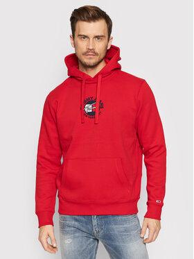 Tommy Jeans Tommy Jeans Bluza Tjm Timeless DM0DM11628 Czerwony Regular Fit