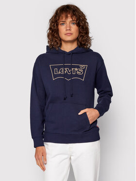 Levi's® Levi's® Majica dugih rukava 18487-0102 Tamnoplava Regular Fit