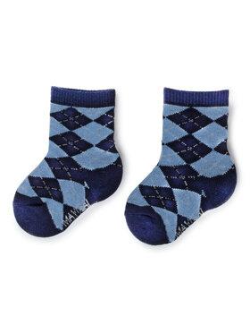 Mayoral Mayoral Vaikiškų ilgų kojinių komplektas (2 poros) 10634 Tamsiai mėlyna