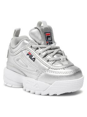 Fila Fila Sneakersy Disruptor F 1011077.3VW Stříbrná