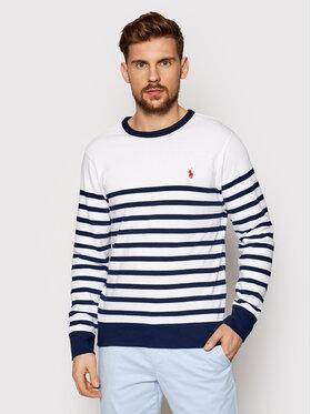 Polo Ralph Lauren Polo Ralph Lauren Sweatshirt Lsl 710835762001 Blanc Regular Fit
