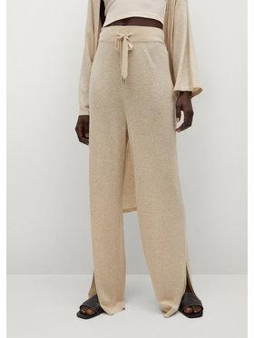 Mango Mango Spodnie materiałowe Tobias 87097122 Beżowy Regular Fit